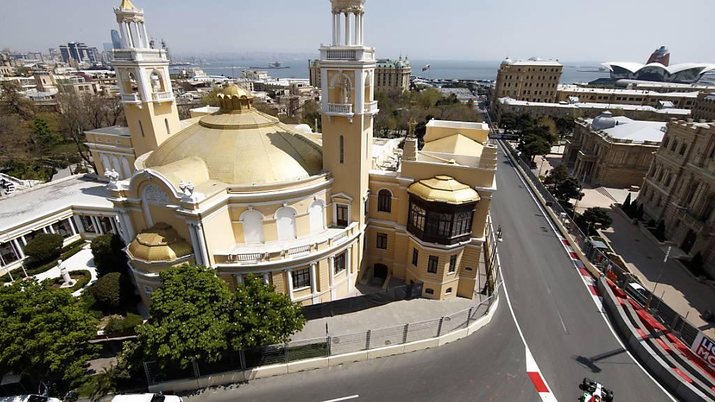 Auch Rennen in Baku verschoben