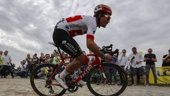 Der Höllenritt auf Platz 2: Silvan Dillier im Vorjahr, damals noch unterwegs im Trikot des Schweizer Meisters.