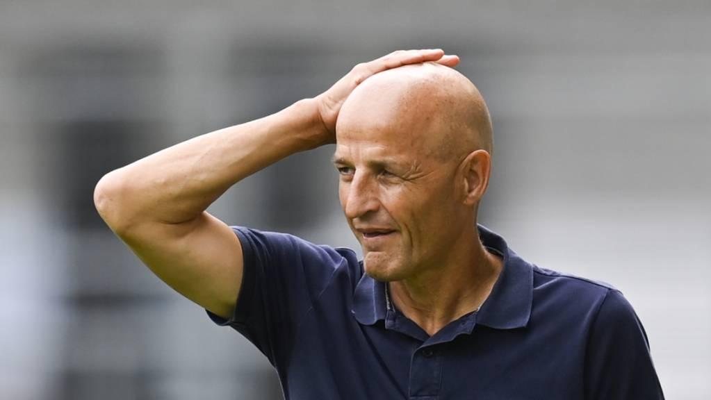 Auf Peter Zeidler und den FC St.Gallen wartet kein einfacher Cup-Gegner.