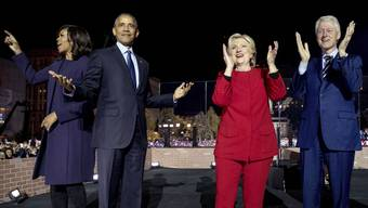 Unerwünschte Post für die Obamas und die Clintons.