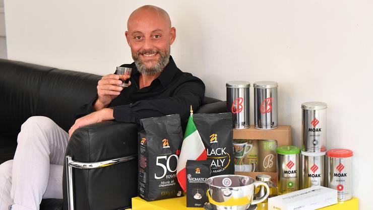 Kaffee ist Leidenschaft und Beruf von Alessandro Mauro.