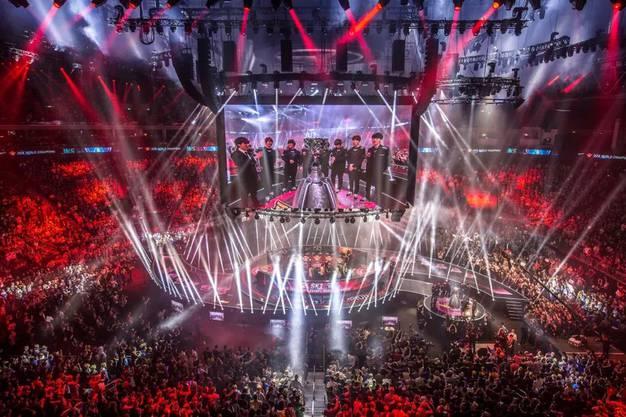 """Die Weltmeisterschaften in """"League of Legends"""" stehen klassischen Sportevents bei der Grösse und Inszenierung in nichts nach."""
