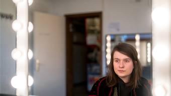 Germaine Sollberger wohnt in Bern, studiert bald Schauspielerei und freut sich auf das Heimspiel in Baden. Mario Heller