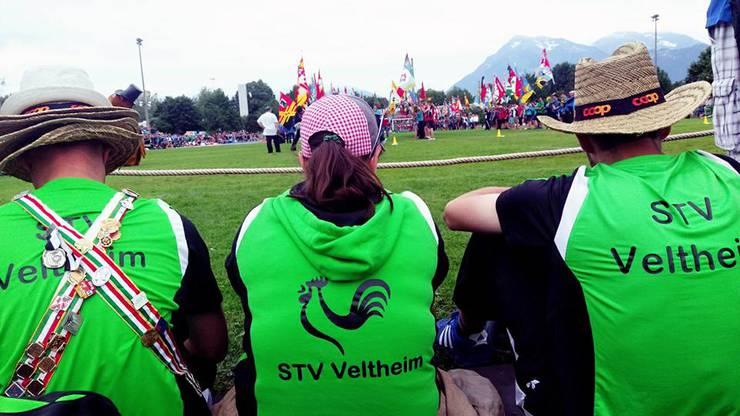 Schlussfeier am Kantonalen Turnfest in Thun 2015.