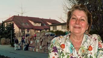 In der Anfangszeit sammelte sie alle Güter bei sich zu Hause.