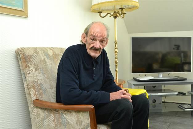 Rolf Bantle hat im Alterszentrum «Zum Lamm» in Basel ein Zuhause gefunden.