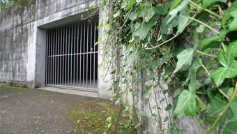 Eingang zur Geschützten Operationsstelle beim Kantonsspital Aarau. (Archiv)