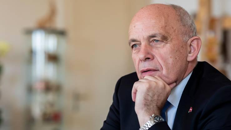 Wird im Dezember 69 Jahre alt: SVP-Bundesrat Ueli Maurer.