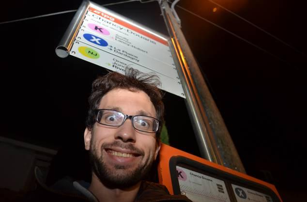 Endlich am Ziel: Nach vier Tagen, 28 Stunden im Bus und 20 Stunden an Haltestellen bin ich endlich am Ziel: Chancy Douane.