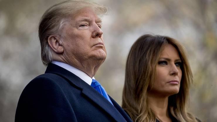 Können die Ermittlungsverfahren zur Amtsenthebung gefährlich werden für Trump? Angespannt ist die Stimmung in den USA auf jeden Fall schon.