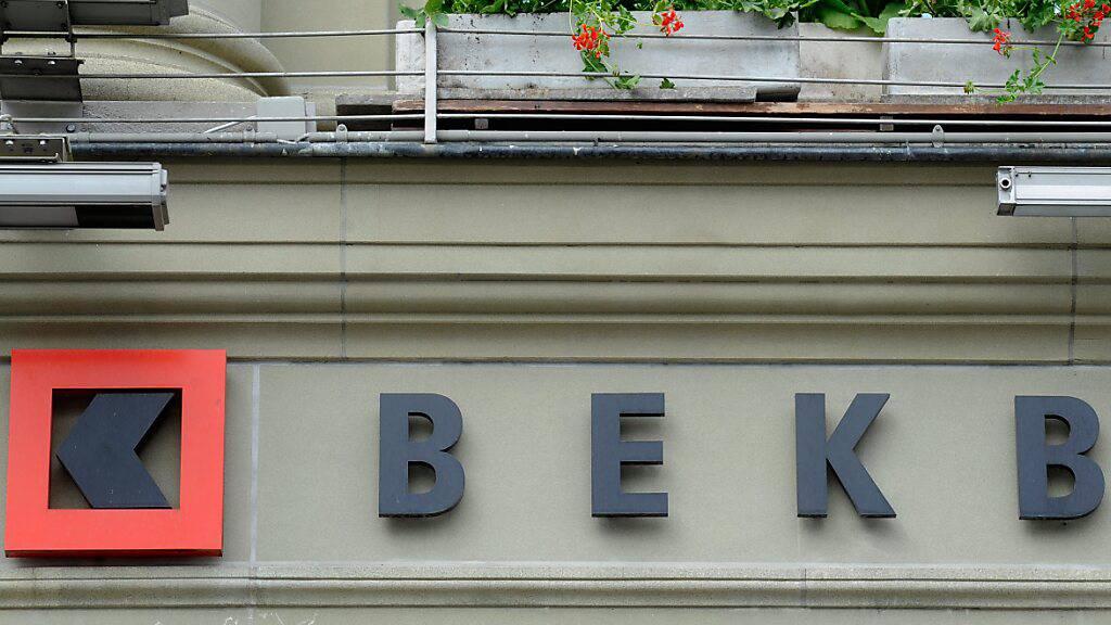 Berner Kantonalbank erzielt mehr Gewinn im Halbjahr. (Archivbild)