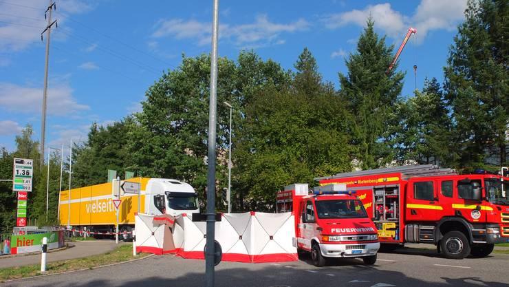 In Villmergen ist es am Mittwoch zu einem schweren Unfall gekommen.