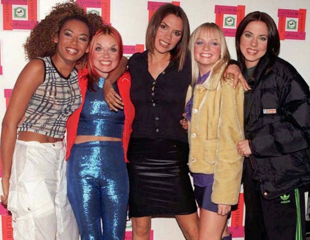 So präsentierten sich die Girls im Jahre 1996. (© Keystone/Mike Stephens)