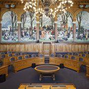 Blick in den Ständeratssaal.