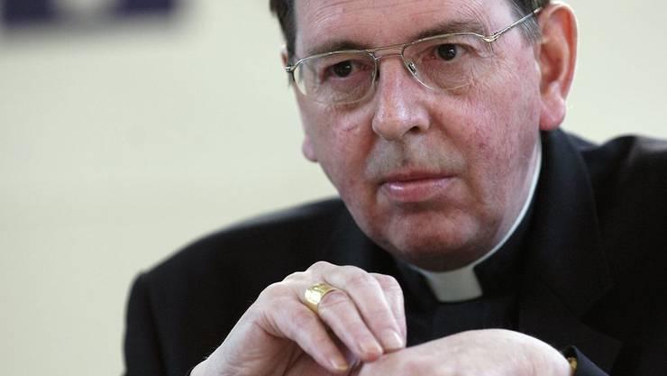 Würde schon auch gerne über die schönen Seiten seiner Kirche berichten: Bischof Kurt Koch.