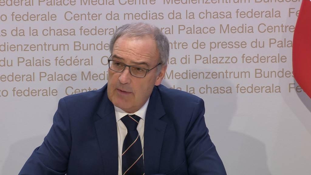 Parmelin: «Die Wirtschaft ist so stark betroffen, wie seit dem 2. Weltkrieg nie mehr.»