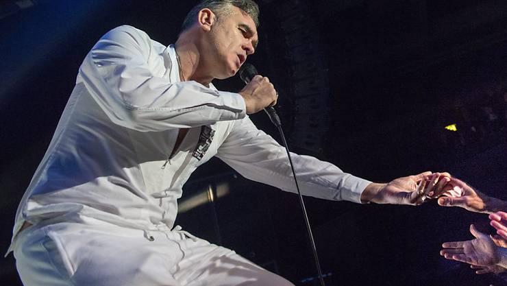 Sänger Morrissey wurde in Rom angeblich von einem Polizisten mit vorgehaltener Pistole schikaniert. (Archivbild)