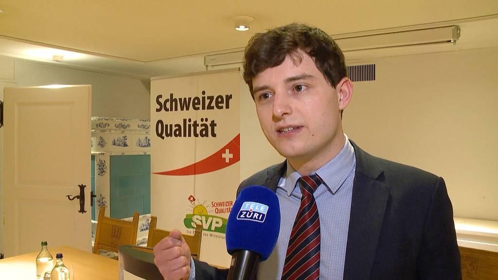 Benjamin Fischer wird neuer Zürcher SVP-Präsident