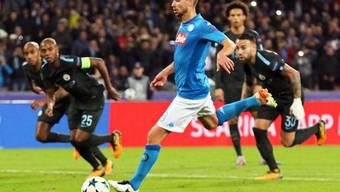 Jorginho traf zum wichtigen 1:0-Sieg von Napoli (Archivbild)