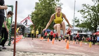 Jugendwettkämpfe am Regionalturnfest Solothurn und Umgebung in Bellach