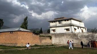 Die Residenz, in der Bin Laden aufgestöbert und getötet wurde