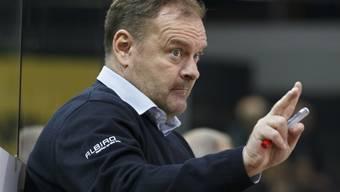 Heinz Ehlers verlängerte seinen Vertrag im Emmental bis Ende der Saison 2020/2021