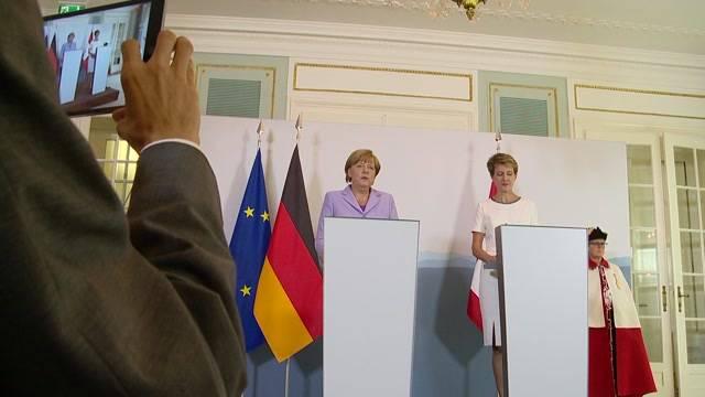 Angela Merkel in Bern