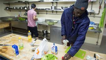 In den vier Notspitälern – im Bild jenes in Muri – leben aktuell rund 590 Asylsuchende, 75 davon in Laufenburg.Archiv/Alex Spichale