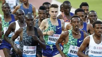 Julien Wanders will trainieren, leben und denken wie die Kenianer.