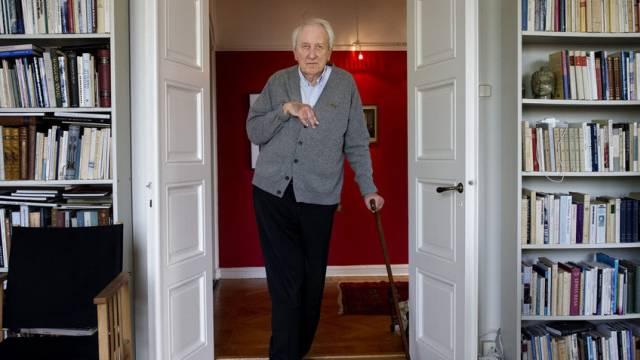 Hatte 2011 den Literaturnobelpreis erhalten: Tranströmer (Archiv)