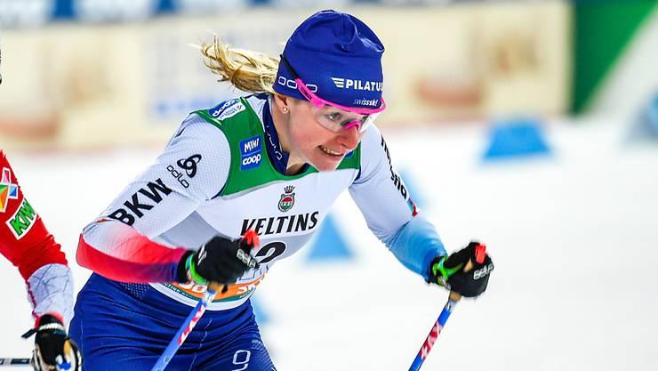 «Im Sprint erhoffe ich mir an der WM etwas mehr als in den anderen Rennen.», so Nadine Fähndrich.