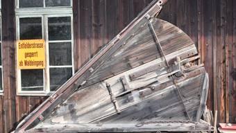 Ältere Einwohner von Schönenwerd erinnern sich noch an den Einsatz des Dreieck-Holzschneepflugs von 1970.
