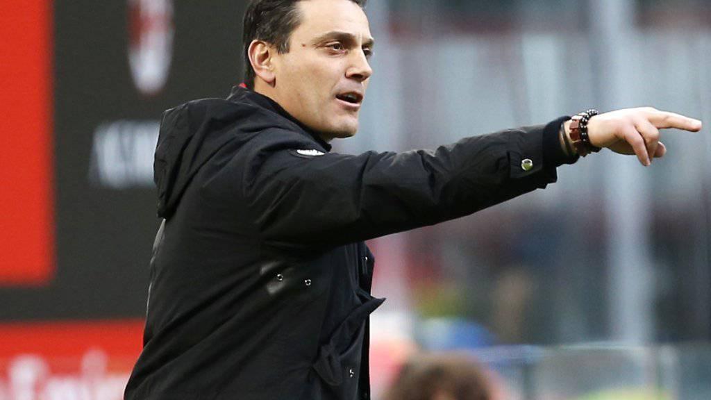 Vincenzo Montella hat in Sevilla wieder einen Trainerjob gefunden