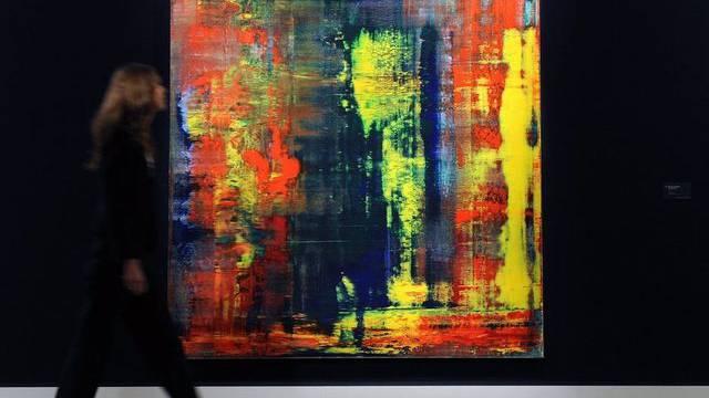 Anonymer Bieter erwirbt Gemälde von Gerhard Richter für 32 Millionen Franken