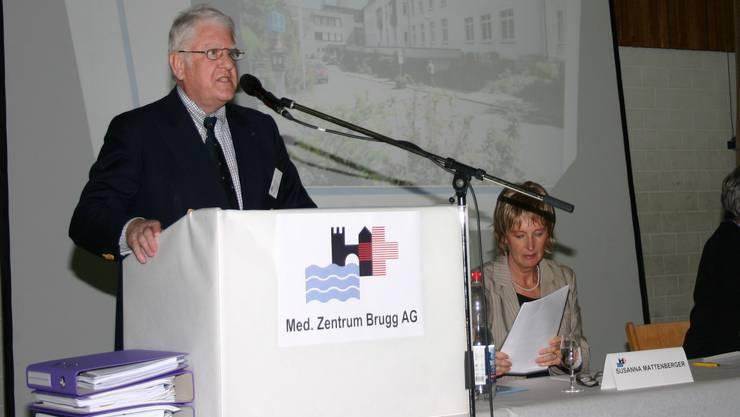 Das Medizinischen Zentrum Brugg (MZB) schreibt wieder schwarze Zahlen.
