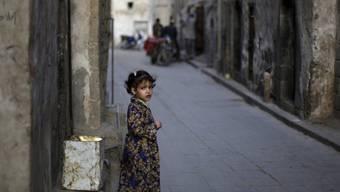 Ein jemenitisches Mädchen in den Strassen Sanaas (Symbolbild)