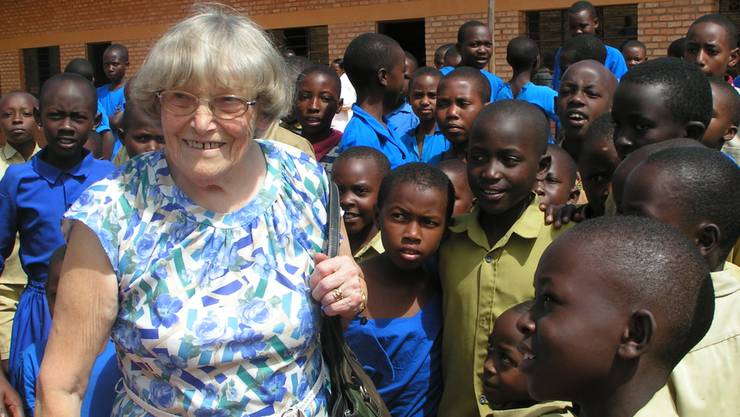 «Helfen dürfen macht glücklich»: Dieses Fazit zog Margrit Fuchs immer wieder bei ihrem Engagement in Ruanda.
