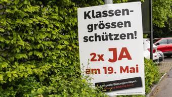 Isoliert, dafür umso engagierter: Der Lehrerverein kämpft mit Plakaten an Baselbieter Strassen für zwei Mal Ja am 19. Mai.