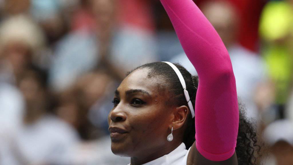 307. Sieg an einem Grand-Slam-Turnier: Serena Williams steht neu auf einer Stufe mit Roger Federer
