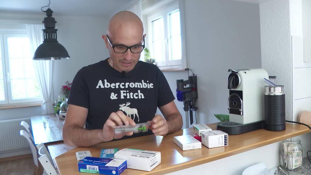 Lymphdrüsenkrebs: Marco Schwinger sucht Blutstammzellspender
