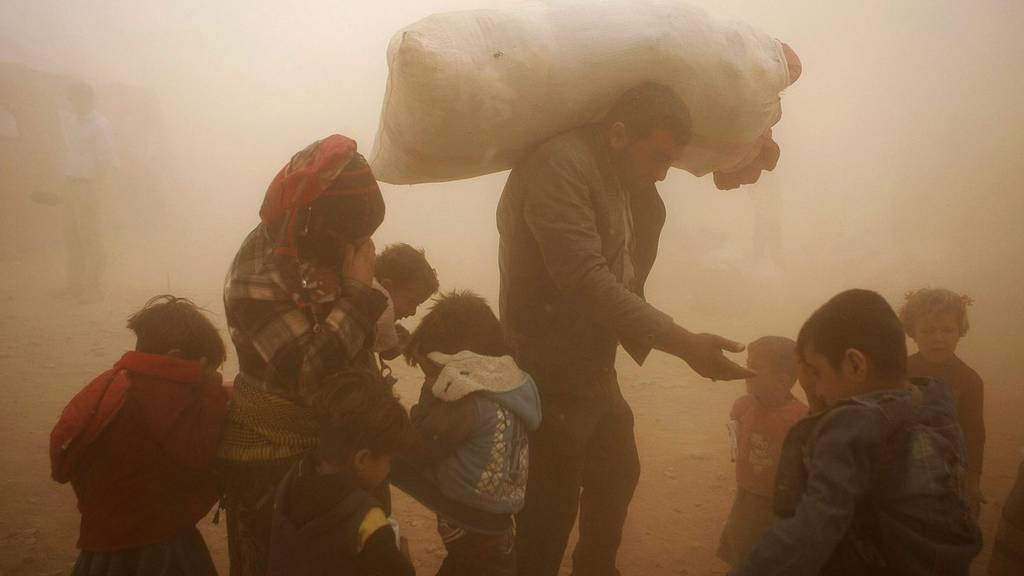 Türkei Syrien Konflikt ISIS Flüchtlinge