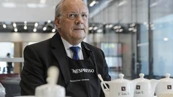 Bundesrat Schneider-Ammann eröffnet neue Nespresso-Fabrik in Romont