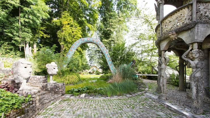 Tausende Besucher aus der ganzen Schweiz und der Welt kommen nach Dietikon, um die Werke von Bruno Weber zu bewundern. (Archiv)