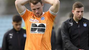 Steckt mit GC mitten im Abstiegskampf: der isländische Mittelfeldspieler Runar Mar Sigurjonsson