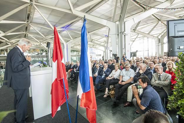 70 Jahre Staatsvertrag am Euroairport. Luc Gaillet