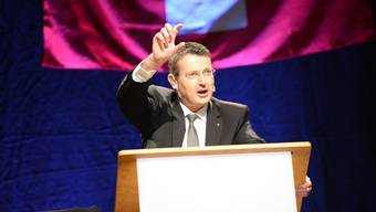 SVP-Nationalrat und Kantonalpräsdient Thomas Burgherr.