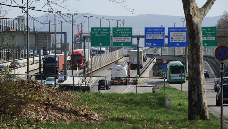 Der Brückenkopf wird zur Tunnelpforte: Basler Regierung hat sich jetzt mit dem Bund auf eine «Bestvariante» mit Tunnel geeinigt.
