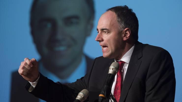 Christophe Darbellay, Präsident der CVP Schweiz, rief seine Parteikollegen aus dem Aargau in einer «Brandrede» zu einem engagierten Wahlkampf auf.