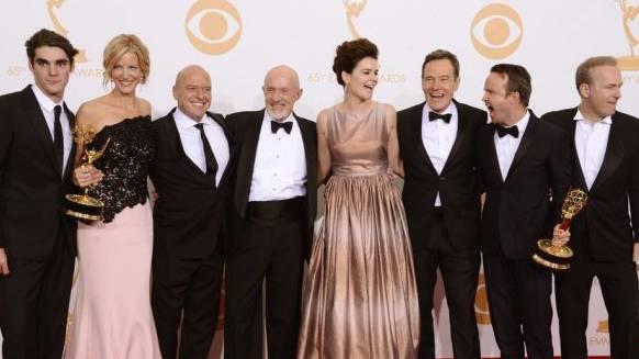 """""""Breaking Bad""""-Darsteller an der Emmy-Verleihung"""