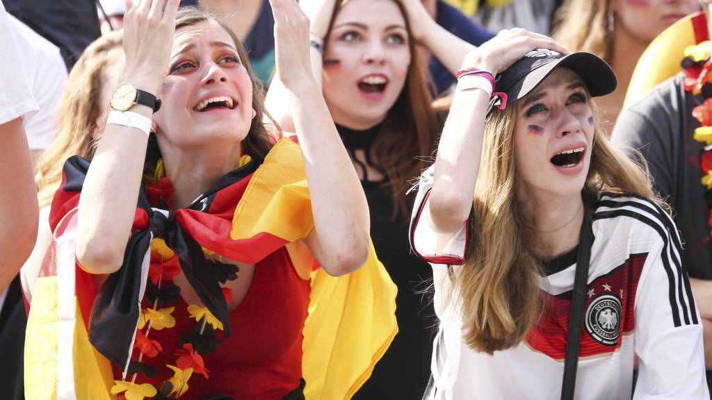 Grosser Frust nach dem WM-Aus von Deutschland.